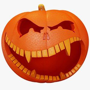 3D Halloween Pumpkin - Hungry
