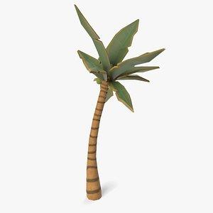 palm tree stylized model