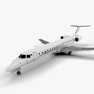 AEROJET  EMBRAER ERJ 145 L1349 3D model