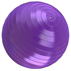 ball yoga 3D model