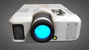 electronic projector 3D model