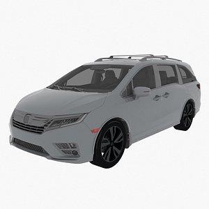 3D 2019 Honda Odyssey model