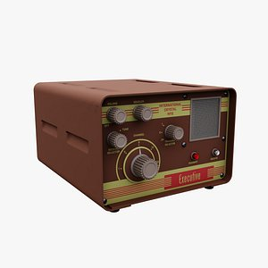 3D Executive Retro CB Radio model