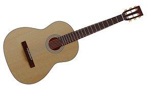 musical instrument 3D model