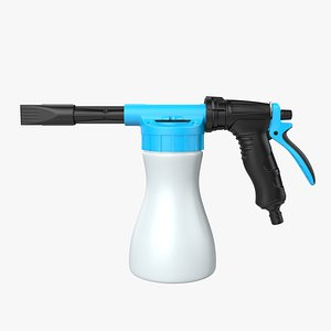 3D model Foam Dispenser Spray gun