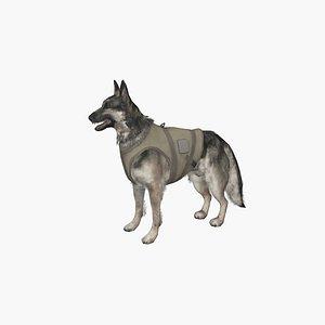3D Police Shepherd