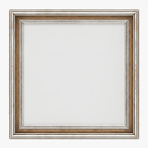 Frame with picture square 03 model