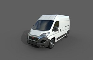 car: fiat ducato panel 3D model