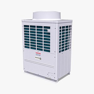 14hp Toshiba Carrier VRF Heat Recovery Outdoor Unit model