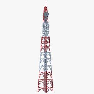 Cellular Tower 3D model