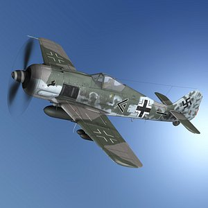 Focke Wulf - FW190 F8 - SG3 3D