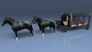 Funeral Carriage model