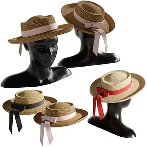 Straw hat 4 model