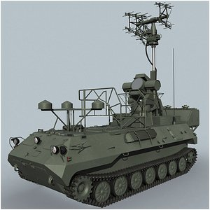 3D model 1L279 Collective Protection Vehicle