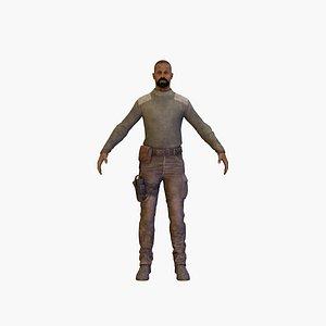 bandit rigged 3D