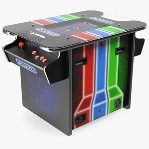 ArcadePro Mars 55 Cocktail Arcade Machine 3D