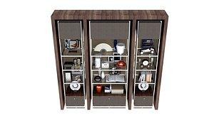 shelf with decor2020 model