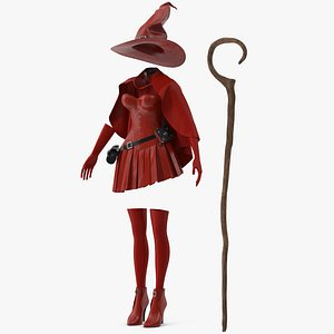 Witch Costume 3D