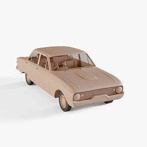 1960 Ford Falcon 3D model
