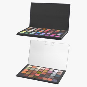 Eyeshadow Makeup Palettes Collection model