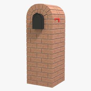 mailbox mail 3D