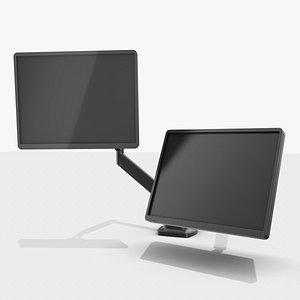 monitor holder 3D model