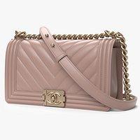 Chanel Boy Handbag Pink