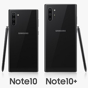 samsung galaxy note10 3D model