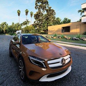 3D 3D Mercedes-Benz GLA 2021 model