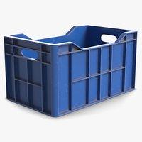Plastic Crate Storage Bin 1