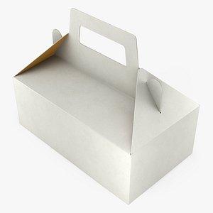 3D Food Box 02 model