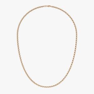 3D necklace chain