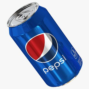 3D Pepsi can