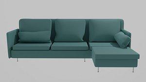 3D ikea furniture sofa model