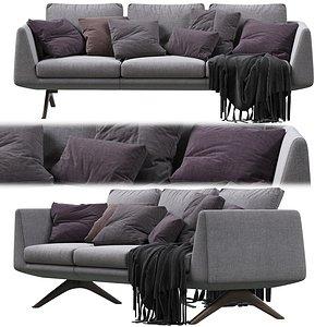 3D sofa hepburn model