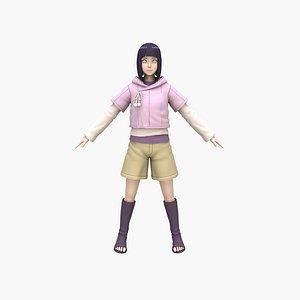 Hinata V2 3D model