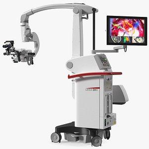 Precision Surgical Microscope Leica M530 OHX 3D model