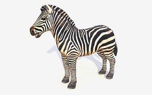 zebra animations 3D