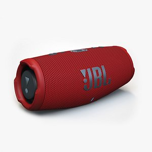 JBL Charge 5 red 3D model