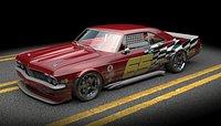 chevrolet impala 1965 race car