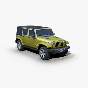 jeep wrangler unlimited suv 3D