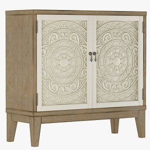 Sideboard Small Cowley Accent Chest 3D model