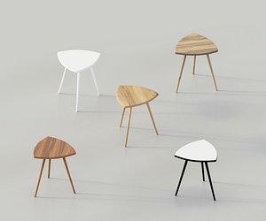3D furniture chair stool