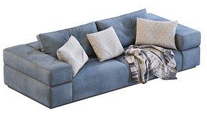 3D Sofa BRICK LANE By Lema model