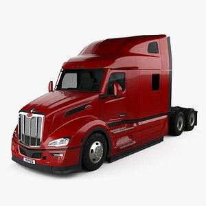 Peterbilt 579 Sleeper Cab Tractor Truck 2021 model