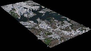 3D model Sydney - Australia