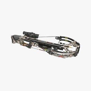 3D barnett hyperghost 425 crossbow 3ds max  2018 corona model