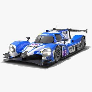 Muehlner Motorsport Duqueine D08 Le Mans Prototype LMP3 3D model