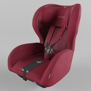 Recaro KIO Children Car Seat  Select Garnet Red model