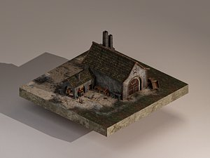 Medieval Blacksmith 3D